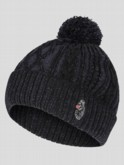 BAILEY PLATED CABLE BEANIE