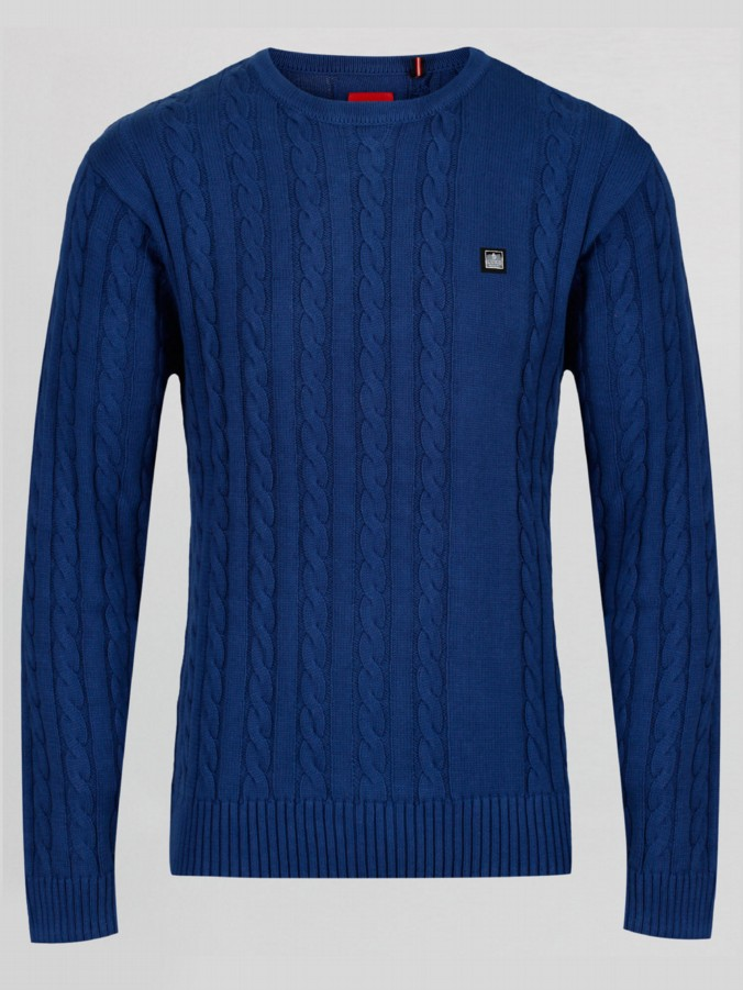 Hortons Luke 1977 Mens Fashion Cable Knit