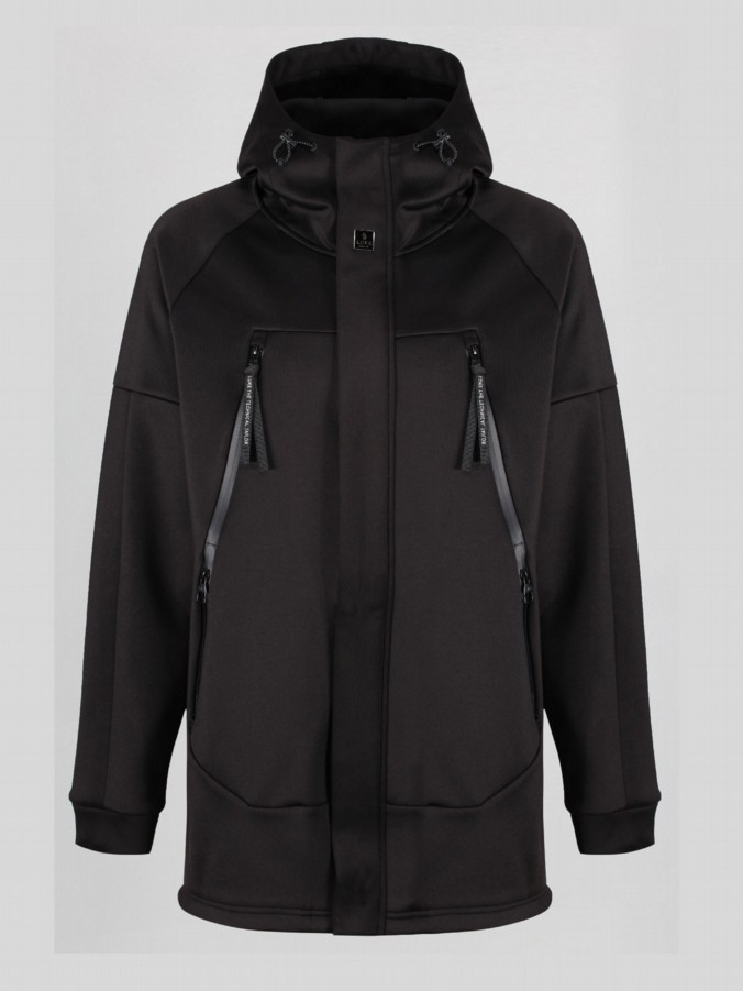 KEITHIO LONG LINE FISHTAIL HOODY