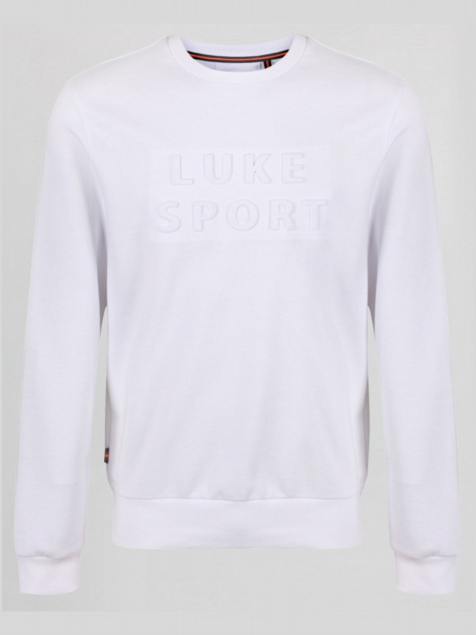 LEWIS LUKE SPORT 3D LETTERING CREW NECK SWEAT