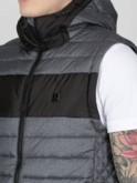 OLDBURY QUILTED HOODED 2 IN 1 JACKET GILET