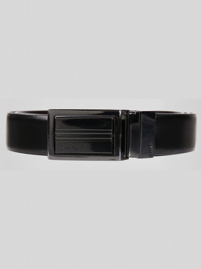 JIMMY SOLID BUCKLE REVERSABLE BELT
