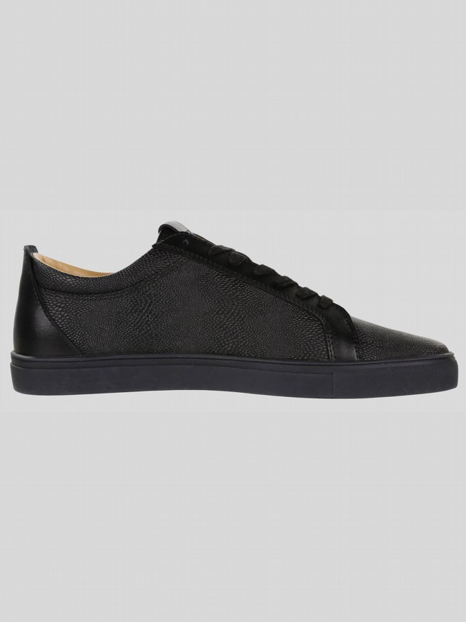 HILTON LEATHER LOW TRAINER