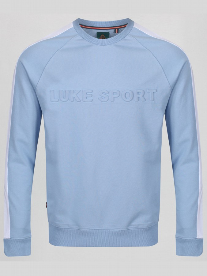 TEXTUAL SPORT RAISED TEXT SWEAT