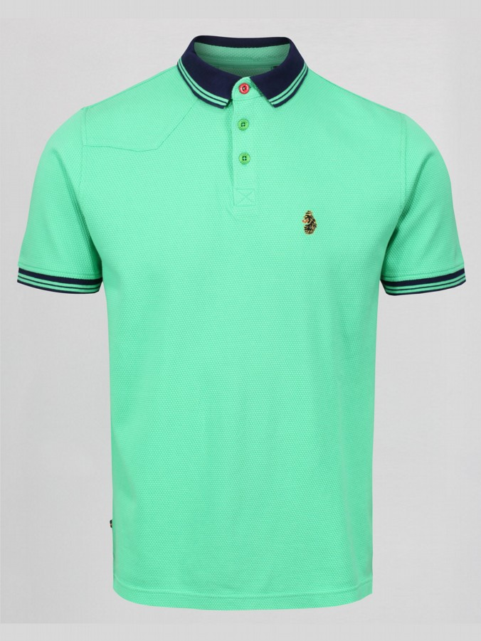 B BOY LUKE SPORT RINGER POLO