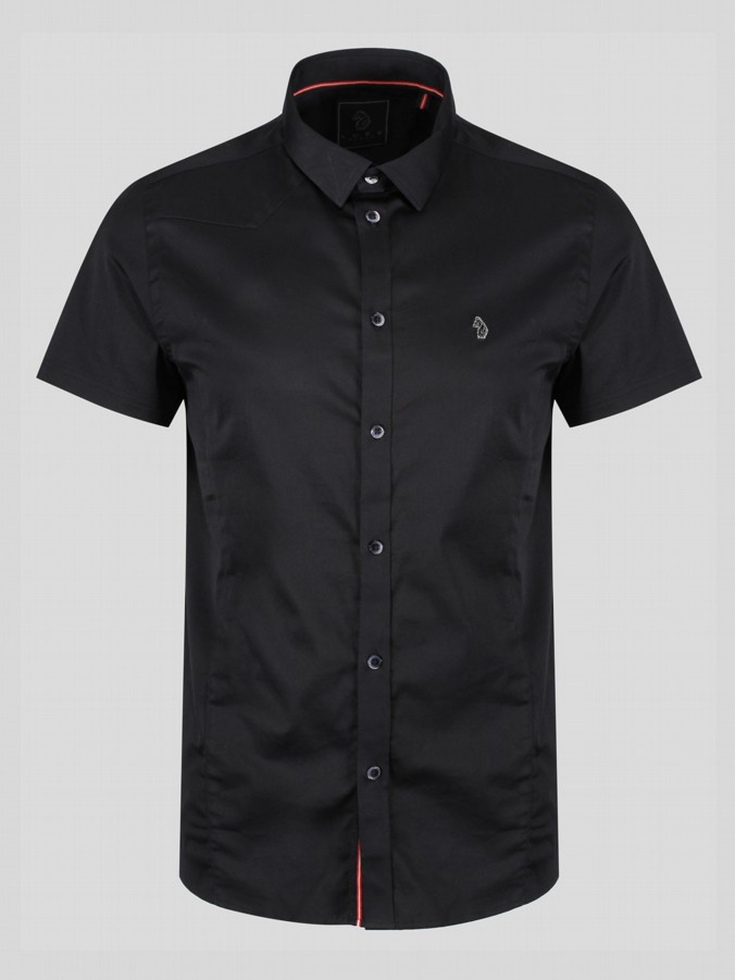 CONNORS PENCIL 2 S/S SLIM FIT SHIRT