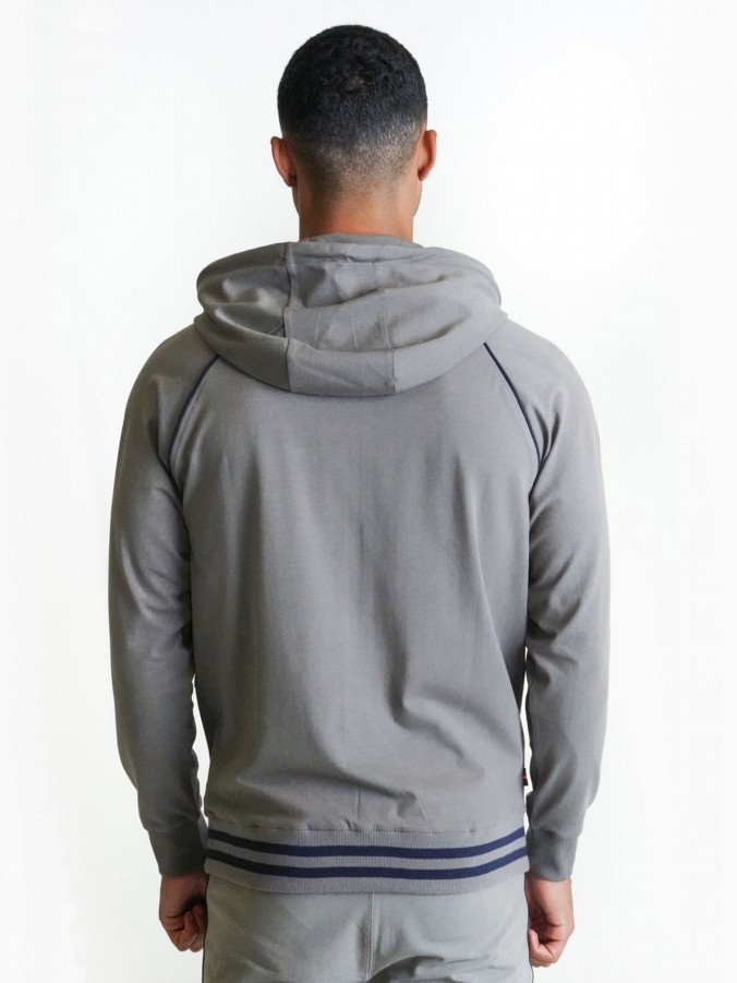 STAG RUN ZIP THROUGH HOODIE SMU