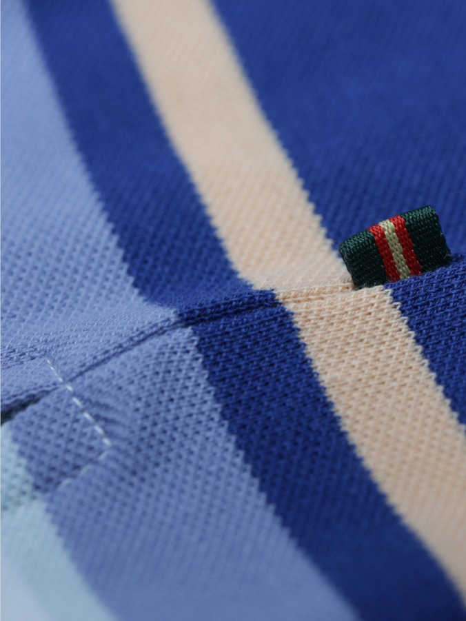 THE MID OAK LUKE SPORT STRIPE POLO