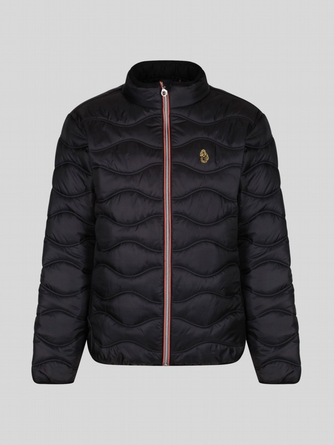 RUBY LUKE SPORT QUILTED FUNNEL NECK JKT