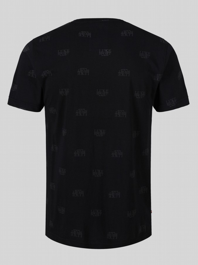 Luke sport Logod embossed short sleeve t shirt
