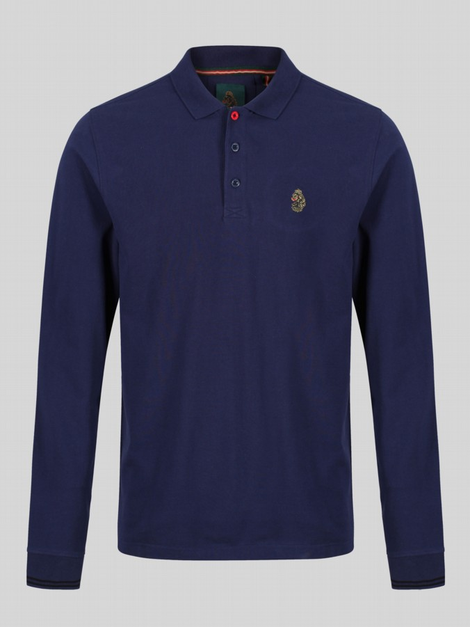 Luke Sport new long mead long sleeve polo