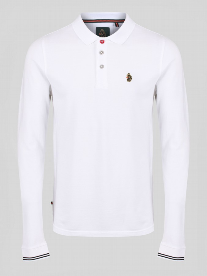 luke 1977 new long mead long sleeve polo