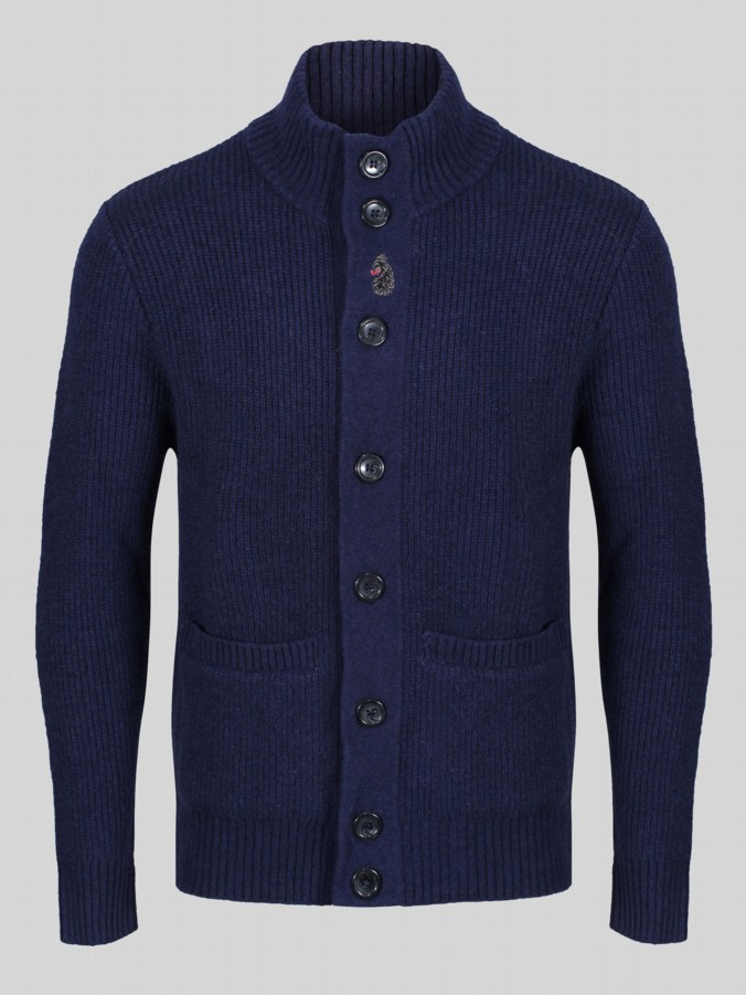 Luke 1977 Miltray knitwear mens cardigan