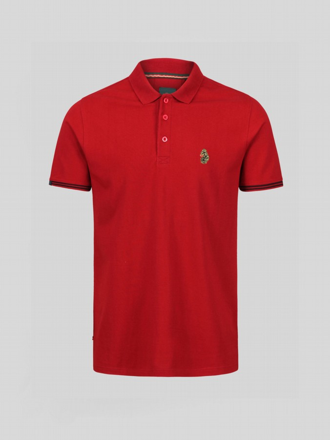 junior lukes new mead short sleeve polo shirt