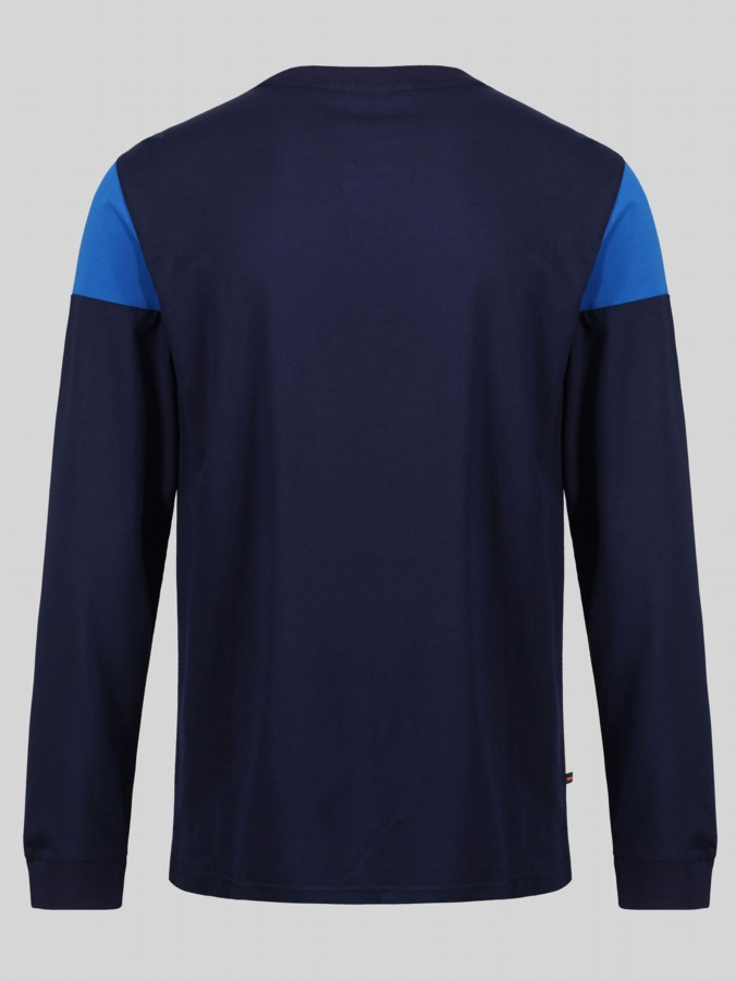 Luke Sport  Kato panel detailed Long sleeve crew neck