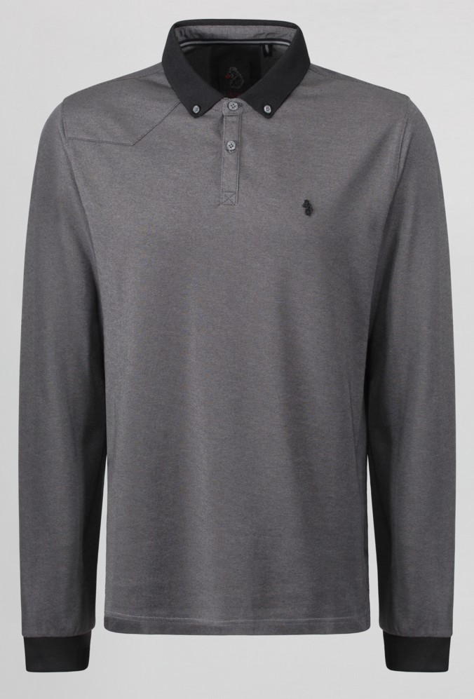 luke 1977 long billiams long sleeve polo shirt