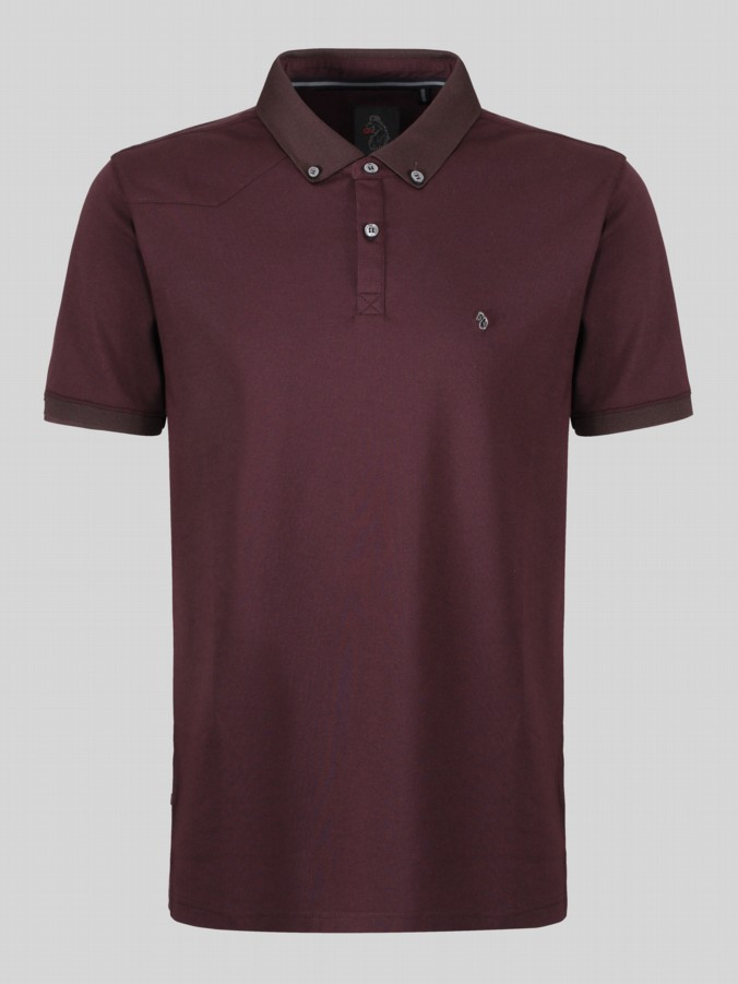 luke 1977 billiams shot sleeve polo