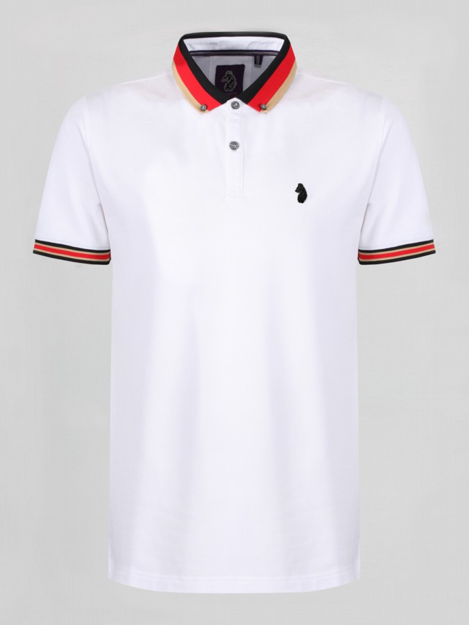 Luke 1977 percyville short sleeve polo shirt