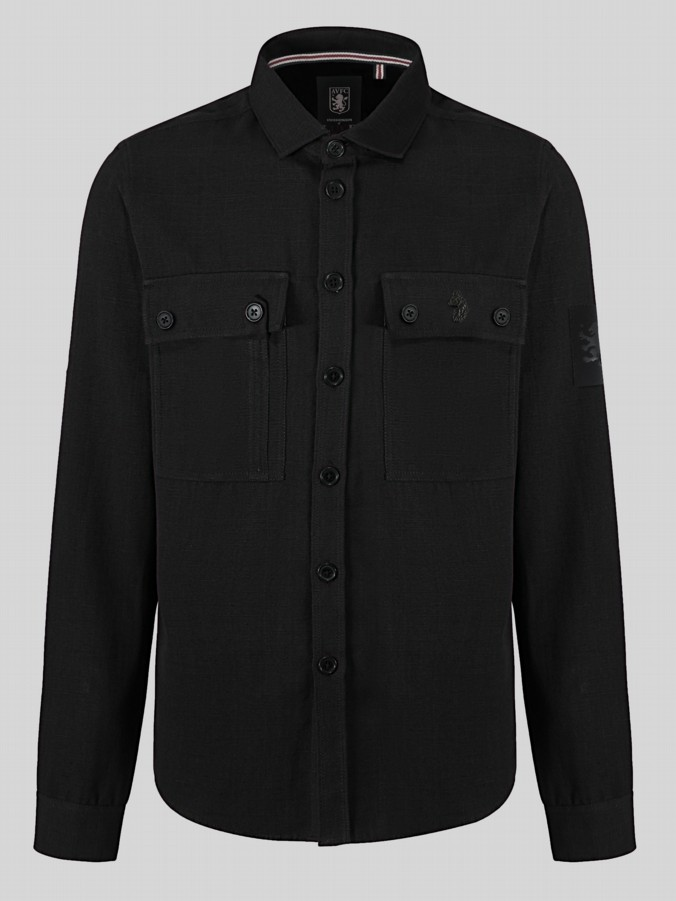 WILLIAMS LUKE X AVFC PATCH POCKET OVERSHIRT