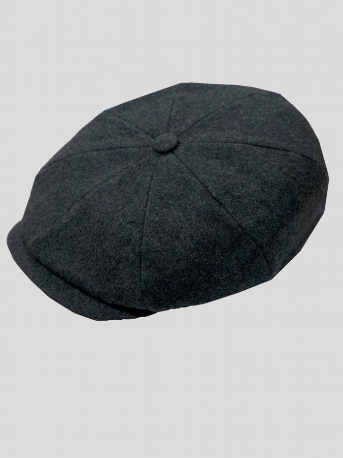 fb400155621e0 The Garrison Grey Flat Cap ...