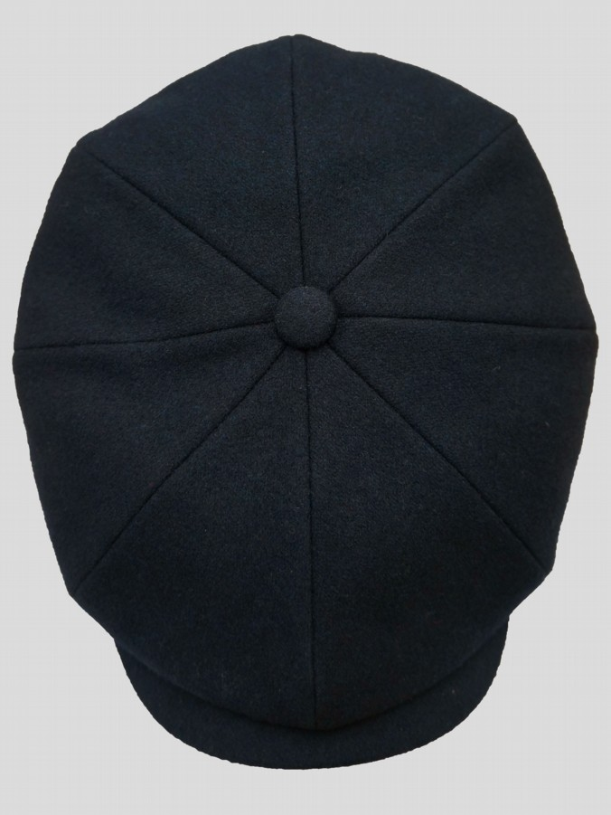The Garrison Blue Flat Cap