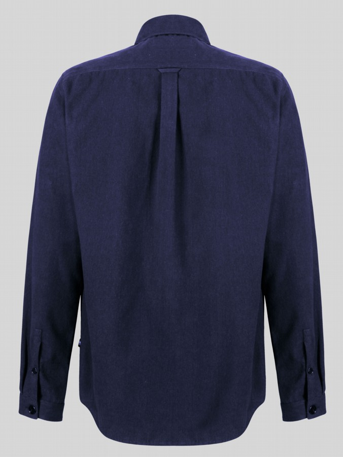 luke 1977 moleskin long sleeve oversized pocket shirt