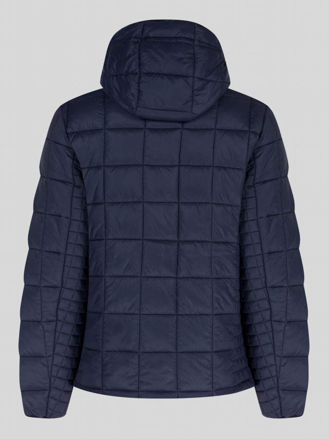 luke 1977 mens designer black padded quilt jacket