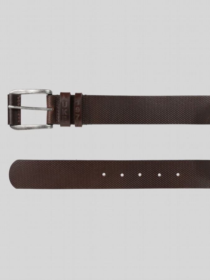 Luke 1977 boomer double embossed loop belt