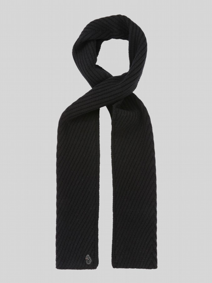 Luke 1977  Rulston shaped rib scarf