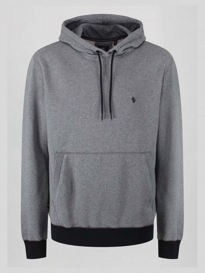 ROBKNOWSBEST BACK PRINT OVERHEAD HOODY