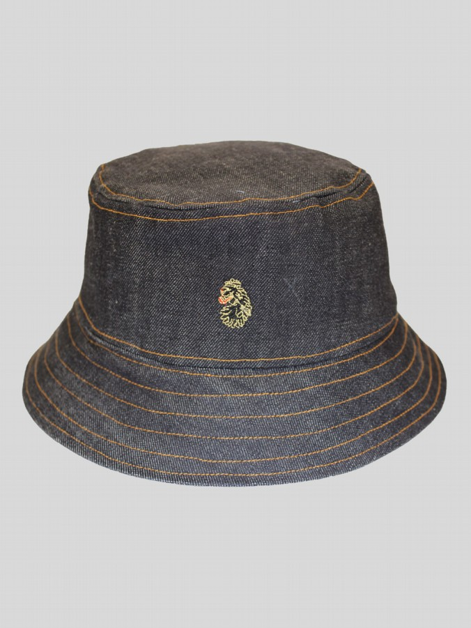 SHINE DENIM BUCKET HAT