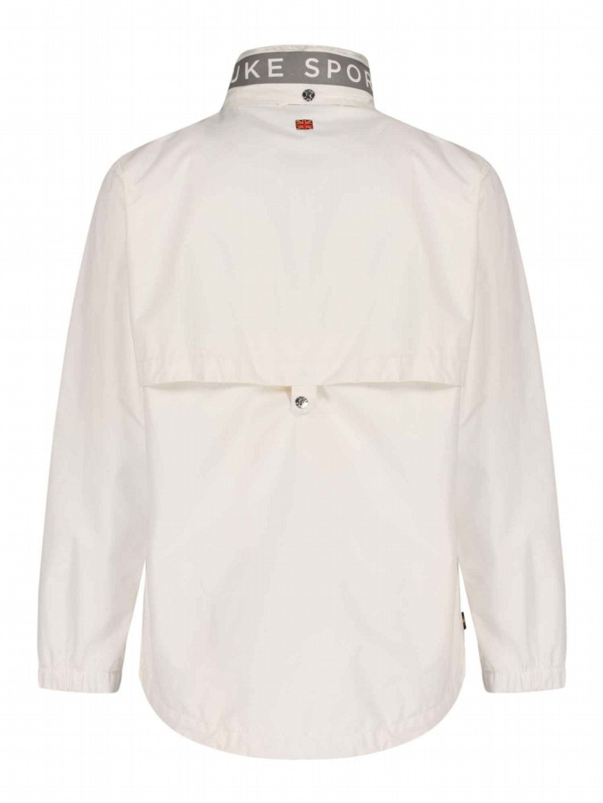 Field Jacket Mens White Funnel Neck