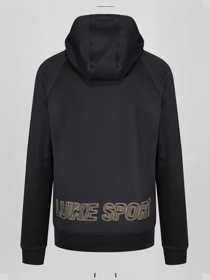 STRONIC LUKE SPORT HOODY WITH 3D LOOK GRAPHIC PRINT