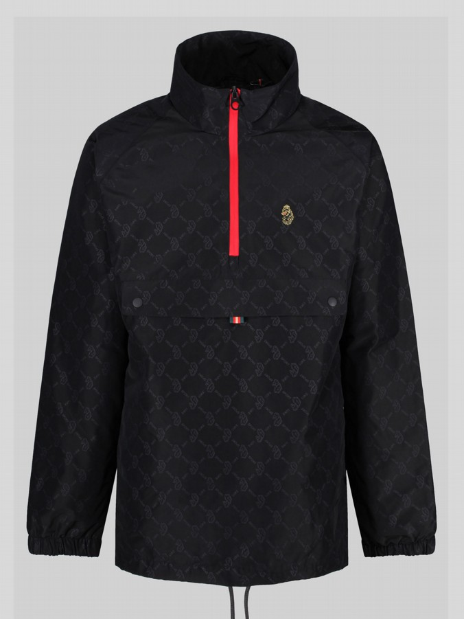 CARBON LUKE SPORT FUNNEL NECK WIND BREAKER