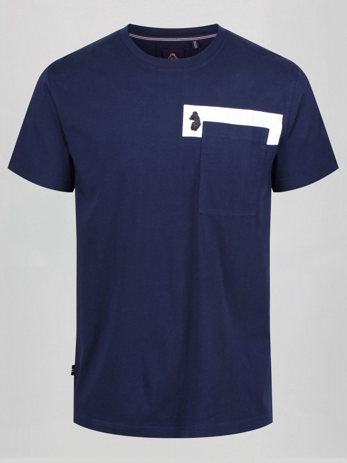 POCKET THE DIFFERENCE MULTI TECHNIQUE POCKET T-SHIRT