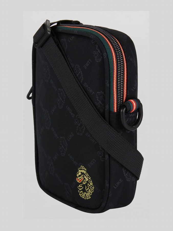 HAZARD PRINTED SPORT CROSS BODY BAG