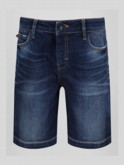 NIMED DENIM TAPERED SHORT