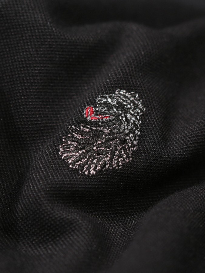 LONG MASTER CLARKE L/S LION EMBROIDERY CREW