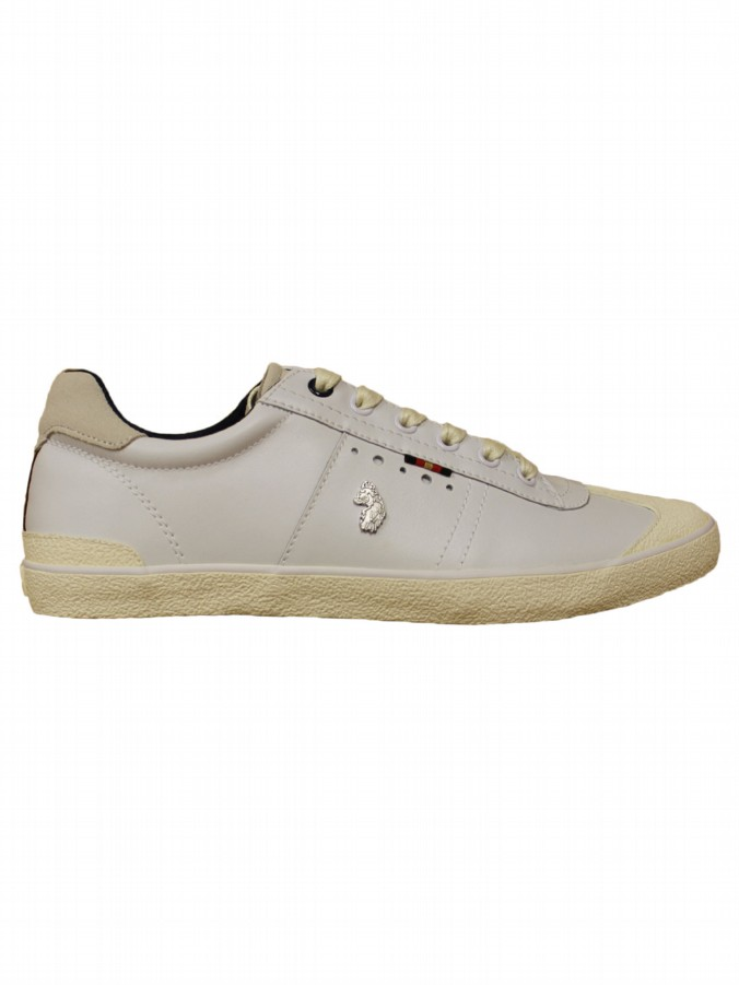 ma1 luke 1977 mens designer white lace up trainers