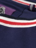 BUCKET STRIPED RIB DETAIL CREW