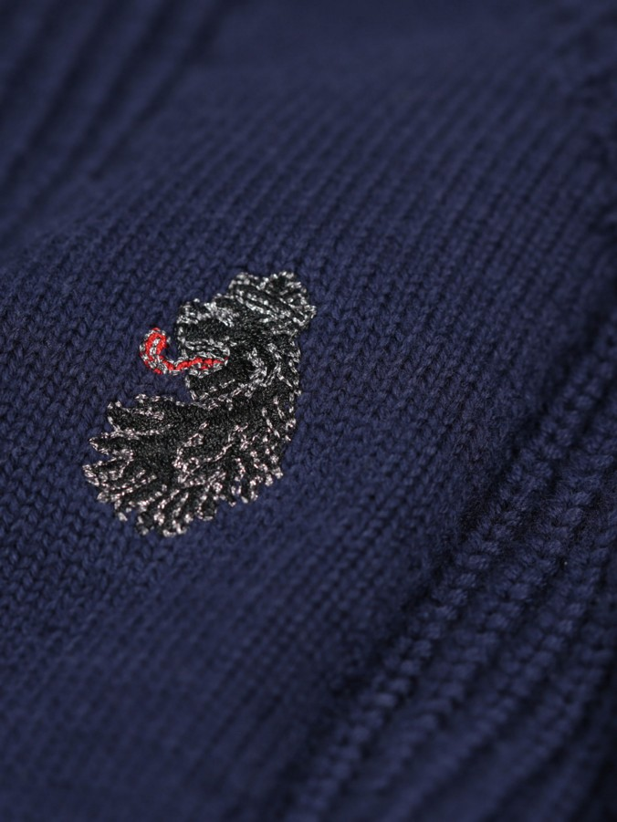 SPLORTON 2 CUT & SEW DETAIL CREW NECK