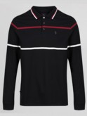 LONG OBRIEN L/S YARN DYED STRIPE POLO