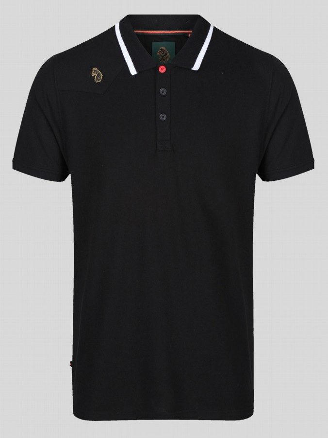 NEWTOWN S/S TIPPING COLLAR POLO