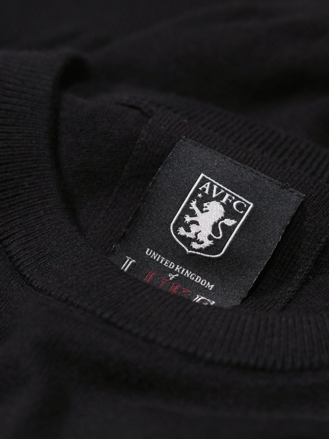 GREGORY LUKE X AVFC CREW NECK KNIT