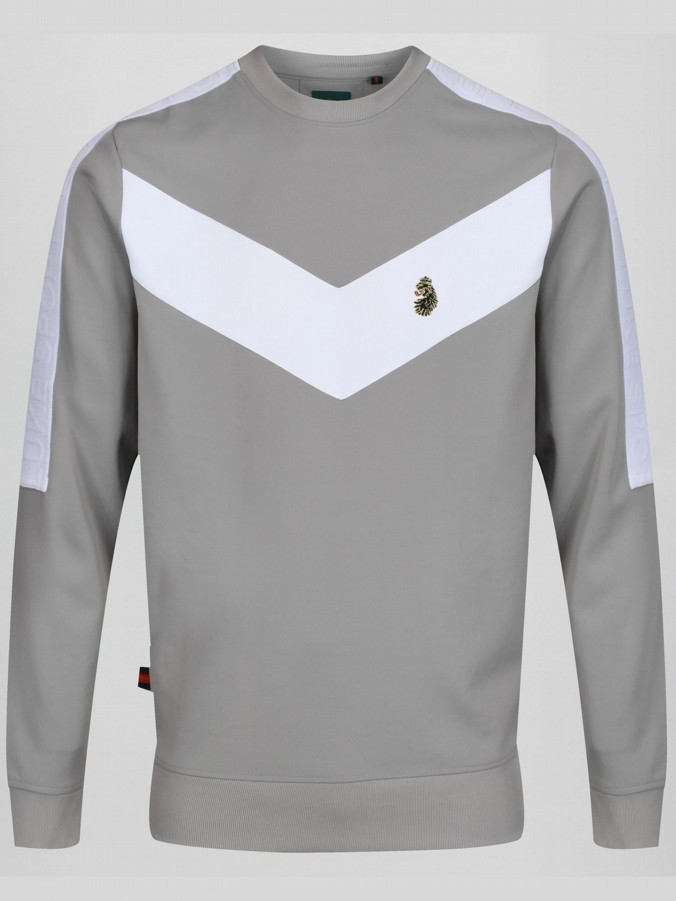 CASA VIEJA SPORT CHEVRON SWEATER
