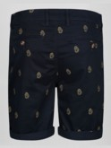 TORREMOLINOS MULTI LION EMBROIDERY CHINO SHORT
