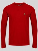 Long Sleeve T-Shirt In Red