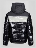 BAIRSTOW 2 HOODED OVERPRINTED QUILTED JACKET