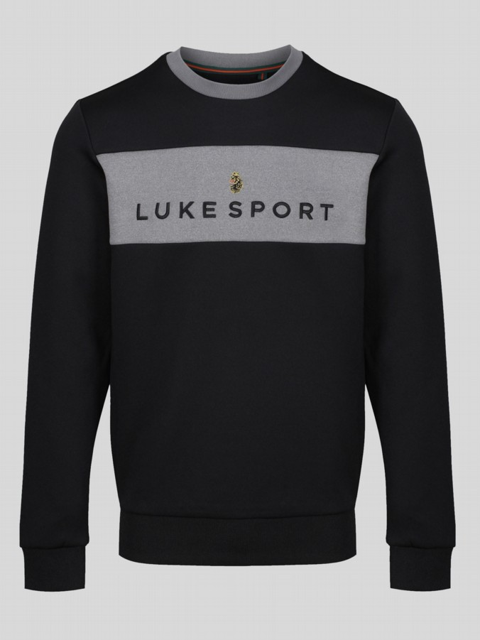 FAIRCLOUGH LUKE SPORT TEXT PRINT CREW