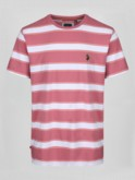 BURKHARA STRIPED CREW T-SHIRT
